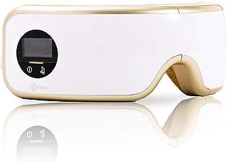 【国内メーカー】 La Luna ラルーナ 目元エステ エア アイウォーマー ソルフェジオ周波数528Hz プレゼント USB充電 目もと 男女兼用 おうち時間 ギフト 目元ケア (ゴールド)