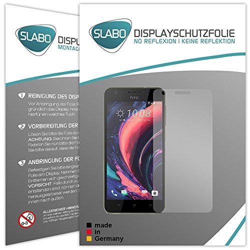 Slabo 4 x Bildschirmschutzfolie für HTC Desire 10 Lifestyle Bildschirmfolie Schutzfolie Folie Zubehör No Reflexion MATT