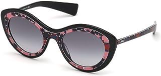 bcb986f08ae0 Sunglasses Emilio Pucci EP 0080 05B black/other / gradient smoke