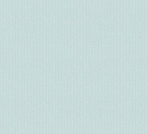A.S. Création Vliestapete Midlands Tapete Uni gestreift 10,05 m x 0,53 m blau Made in Germany 319691 31969-1