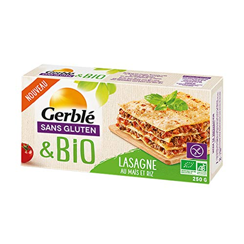 Gerblé Lasagne Maïs Riz sans Gluten Bio 250 g