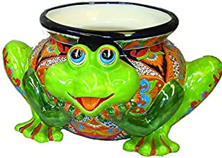 Best mexican pottery frog planter Reviews