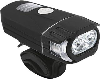 CLISPEED Farol de Bicicleta Luz Recarregável de Bicicleta Mtb Road Commuter Gêmeo Luz de Bicicleta Led Lumens Resistente à...