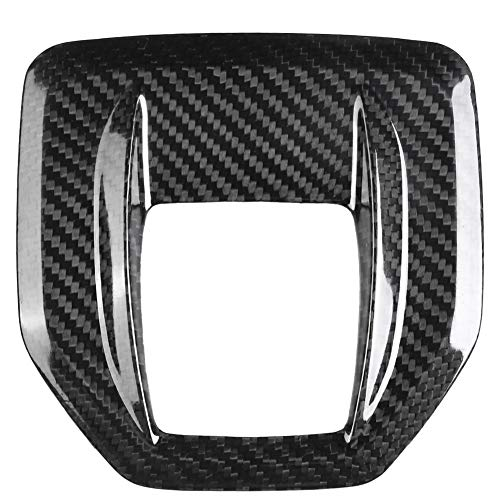 Q iilu Carbon Fiber Center Console Gear Shift Panel Cover Trim for Alfa Romeo Giulia Stelvio 17-18