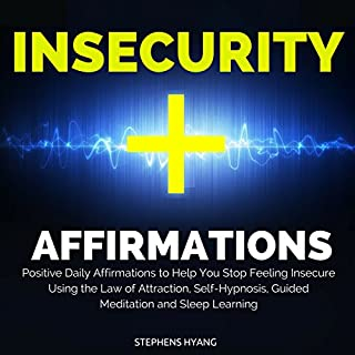Insecurity Affirmations audiobook cover art