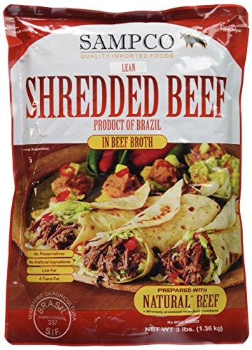 Shredded Beef 3lb.
