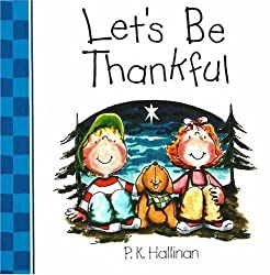 Let's Be Thankful Board Book
