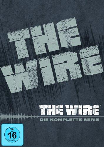 The Wire Staffel 1-5 Komplettbox (exklusiv bei Amazon.de) [24 DVDs]