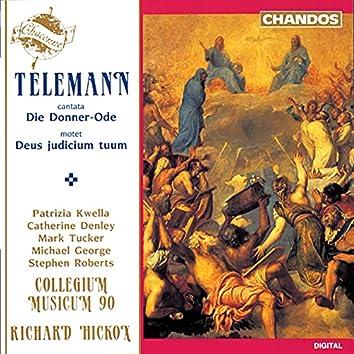 Telemann: Die Donner-Ode