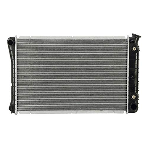 Klimoto Radiator With 1 Inch Thick Core | fits Chevrolet Caprice 1987-1990 5.0L 5.7L V8 | KLI920