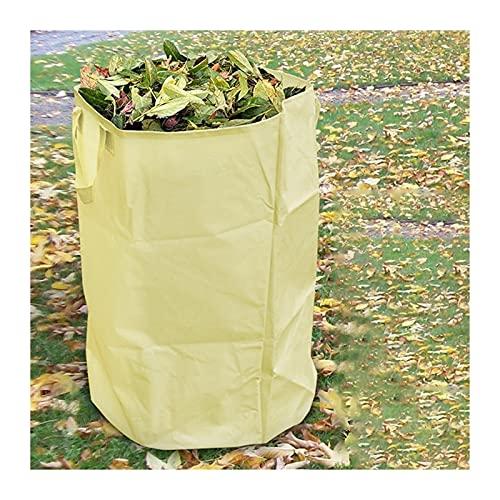 basura 60/80 cm de hojas de jardín Bolsa de almacenamiento Clasificación de bolsas de basura Recolección de residuos plegables Contenedores Parques de jardin Accesorios de limpieza Fuerte, elegante y