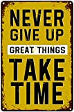 SACOINK Never Give Up Great Things Take Time...