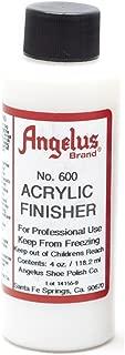 Angelus Brand Acrylic Finisher, Gloss No. 600, 4 Ounce Bottle (600-04-000)