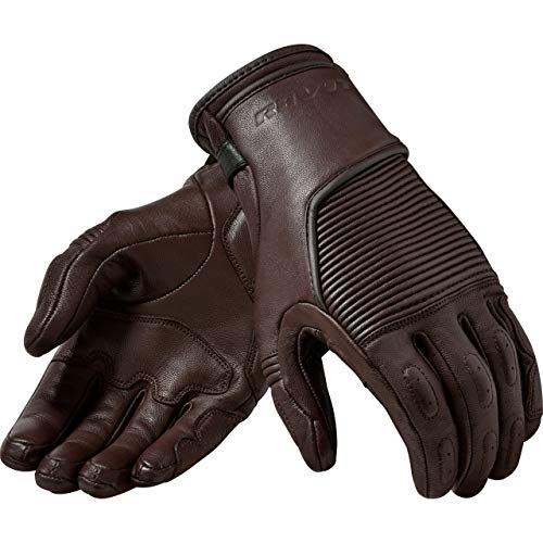 REV'IT! Motorradhandschuhe kurz Motorrad Handschuh Bastille Handschuh braun XXL, Herren, Chopper/Cruiser, Ganzjährig, Leder