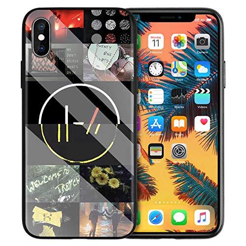DoDoe Vetro Temperato Back Case Shell per Cover iPhone The Woman Dark Black Queen Silicone Case Z0XS4D per Cover iPhone XR Case