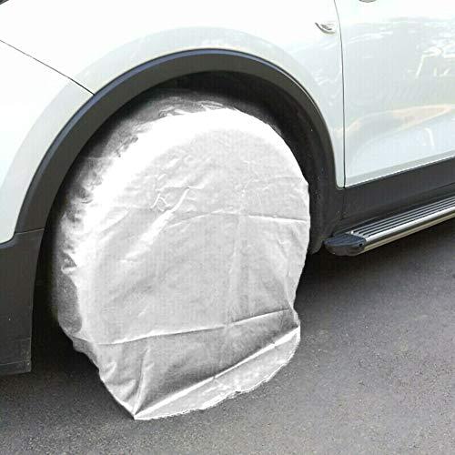 housesweet Protectores de neumáticos de Repuesto de 32 Pulgadas, Impermeables, protección Solar, para Rueda de Caravana, Auto, camión, Coche,...