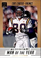 2018 Donruss Walter Payton NFL Man of the Year Football Card #13 Cris Carter NM-MT Minnesota Vikings Official NFL Trading Card
