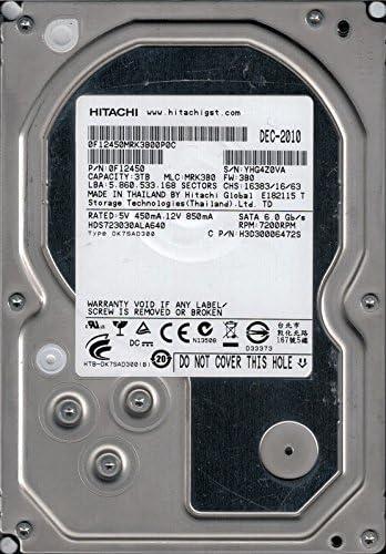 HDS723030ALA640 P/N: 0F12450 MLC: MRK3B0 Thailand Hitachi 3TB