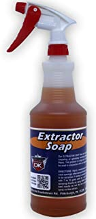 Detail King Car Interior Cleaner Extractor Soap - Auto Carpet Cleaner - 32 Oz