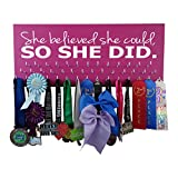 Medal displays - She Believed she Could so she did - Running - Gymnastics - Cheerleading - Swimming...