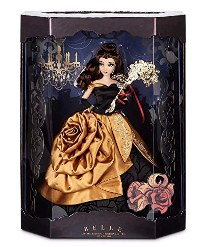 Midnight Masquerade Belle Limited Edition Doll – Disney Designer Collection Series – 12'' - Only 5800 Made Worldwide