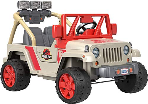Power Wheels Jurassic World, Jeep...