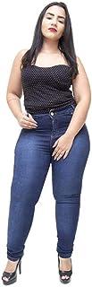 Calça Jeans Credencial Plus Size Skinny Lohana Azul