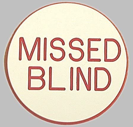 Popular shop is the lowest price Max 74% OFF challenge Missed Blind Poker Dealer Button Quality Casino -