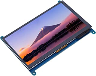 【𝐂𝒚𝐛𝐞𝐫 𝐌𝐨𝐧𝐝𝐚𝒚 𝐃𝐞𝐚𝐥𝐬】 5 Points Touch 7-Inch Display Screen, Capacitive Touch Screen, Stereo Raspberry Pi fo...