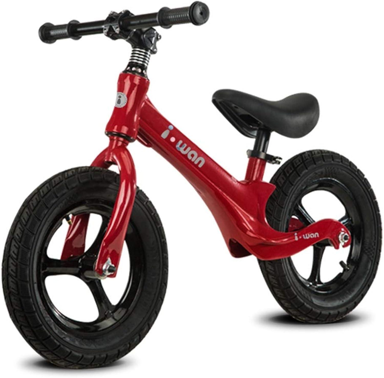 productos creativos ZXC Baby Balance Balance Balance Coche 3-6-8 años de Edad, Niños en Bicicleta sin Pedales Scooter de Diapositivas for Niños en Bicicleta (Color   rojo )  barato y de alta calidad