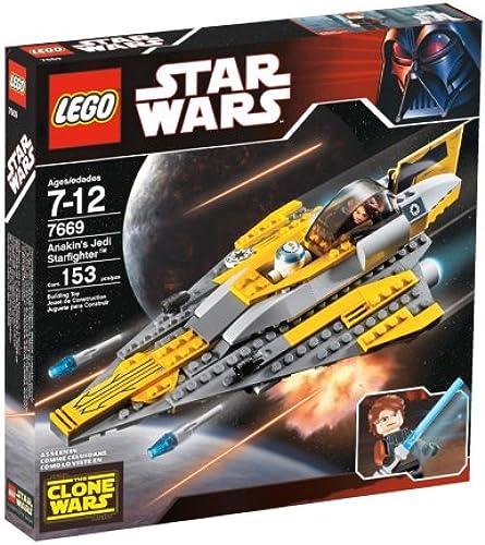 contador genuino LEGO Star Wars Wars Wars Jedi Starfighter de Anakin  estar en gran demanda