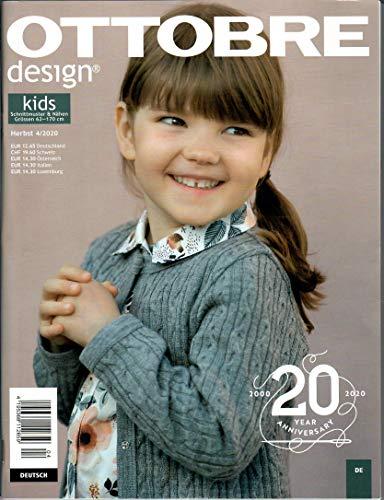 Schnittmusterheft Ottobre design - kids - Ausgabe Herbst 4/2020