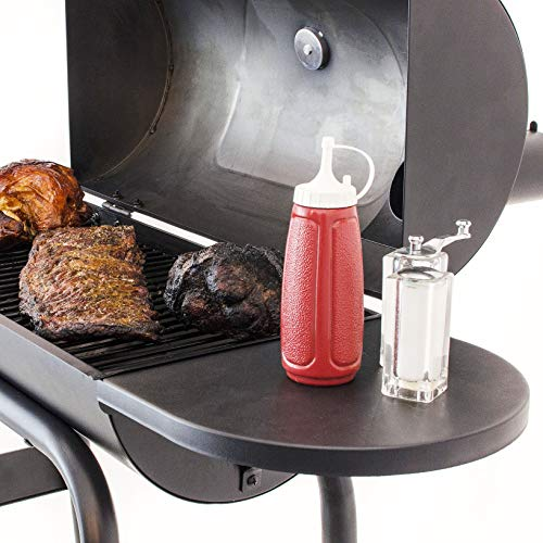 Product Image 5: Char-Broil 12201570-A1 American Gourmet Offset Smoker, Black,Standard