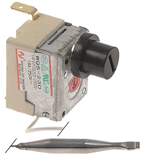 Sicherheitsthermostat WQS-230 für Fritteuse MCC-Trading-International HDF2128, HDF1108, HDF1104, Hualing, Makro-Professional 1NC