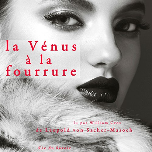 La Vénus à la fourrure audiobook cover art