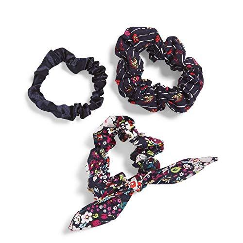 Vera Bradley Damen Tie Scrunchie Hair Accessory Set Accessoire, Itsy Ditsy, Einheitsgröße