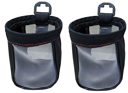 Xtremeauto X2 Universal Car/Truck/Lorry/Camper Van Fabric Drink Cup/Mug Can Bottle Holder Pouch