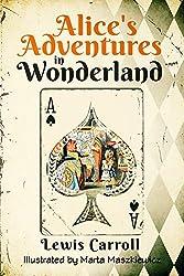 Alice\'s Adventures in Wonderland (Original 1865 Edition - Illustrated by Marta Maszkiewicz) (English Edition)