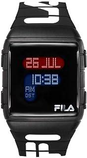 N°105 38.105.006 Childrens Digital Quartz Watch with Silicone Bracelet 38-105-006