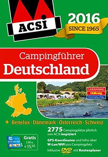 ACSI Campingführer Deutschland 2016 mit DVD (Hallwag Promobil)