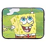 Neoprene Laptop Sleeve Bag Spongebob Squarepants Tablet Briefcase Carrying Bag Cover Compatible 13-15 Inch Notebook