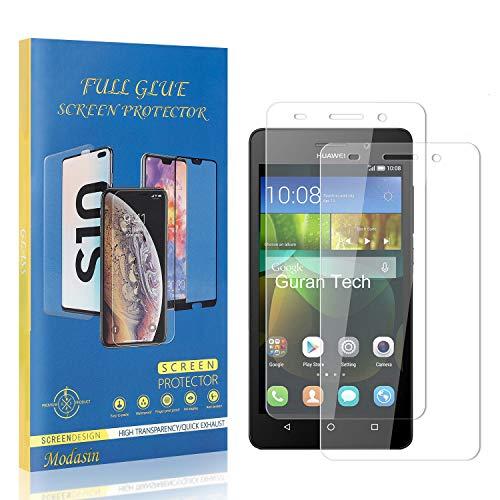 Modasin Bildschirmschutzfolie kompatibel mit Huawei Honor 4C, 9H Festigkeit HD Panzerglasfolie Bildschirmschutzfolie, Ultra klar Schutzfolie für Huawei Honor 4C, 2 Stück