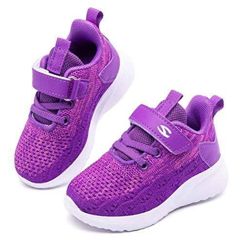 JIASUQI Kids Shoes Boys Girls Sneakers Lightweight Running Tennis Shoes...