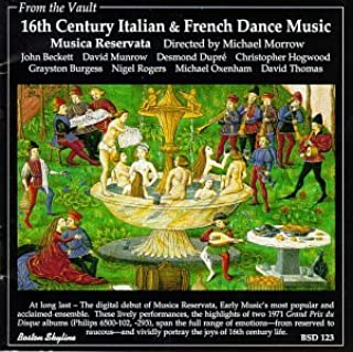 16th Century Italian & French Dance Music (B000001UO4) | Amazon price tracker / tracking, Amazon price history charts, Amazon price watches, Amazon price drop alerts