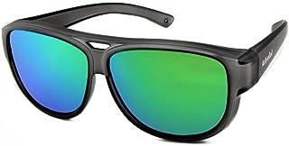 SOBREGAFAS DE SOL de diseño   Gafas de aviador   Sobregafas de sol con protección UV400   polarizadas   24 gramos