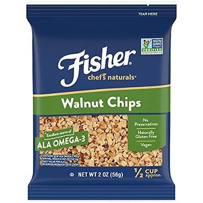 FISHER Chef's Naturals Walnut Halves & Pieces, Naturally Gluten Free, No Preservatives, Non-GMO
