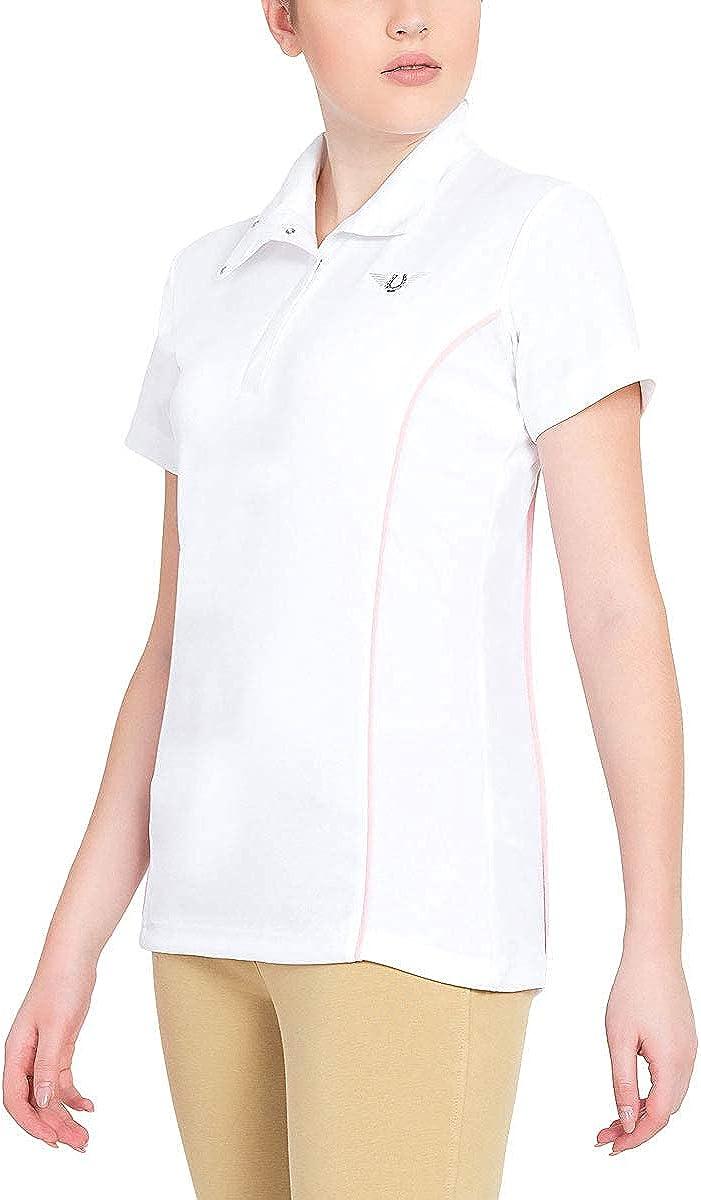 TuffRider Women's 日本正規代理店品 Kirby Kwik おしゃれ Dry Show Shirt Sleeve Short