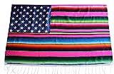 Del Mex Mexican Serape Blanket...