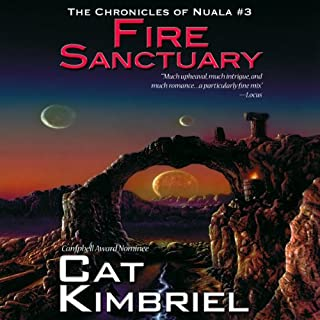 Fire Sanctuary audiobook cover art