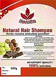 Havintha shampooing cheveux naturels cheveux 8 oz, amla reetha shikakai poudre (phyllanthus emblica, sapindus mukorossi, acacia concinna), produit de, 227g